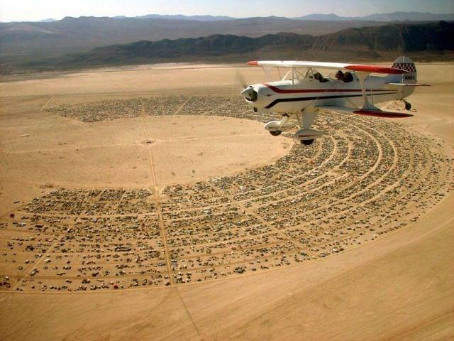 Sanatın 'uçuk' sergisi: Burning Man