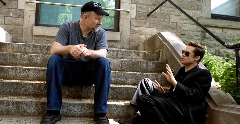 David Fincher & Brad Pitt