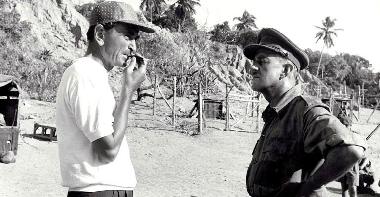 David Lean & Alec Guinness