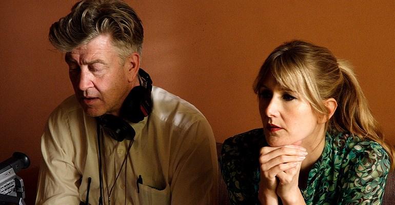 David Lynch & Laura Dern