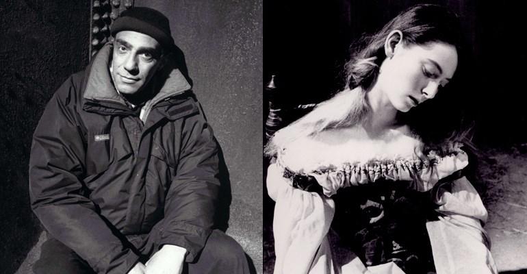 Derek Jarman & Tilda Swinton