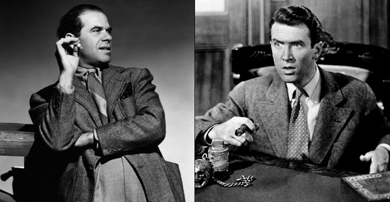 Frank Capra & James Stewart