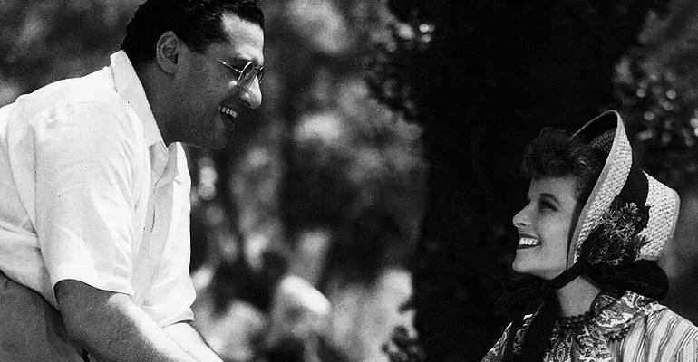 George Cukor & Katharine Hepburn