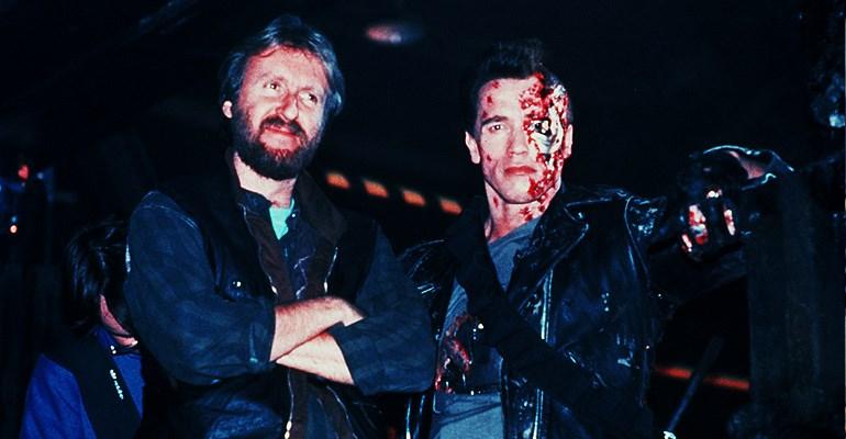 James Cameron & Arnold Schwarzenegger