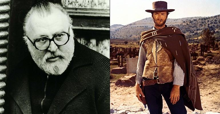 Sergio Leone & Clint Eastwood