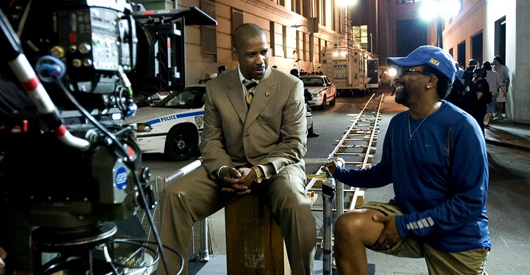 Spike Lee & Denzel Washington