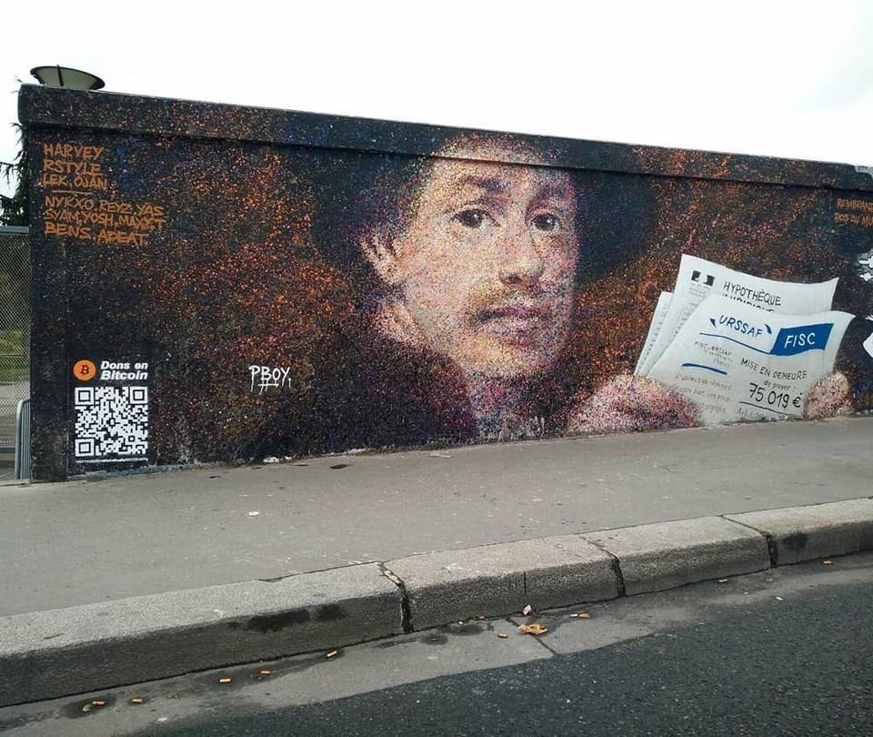 Sokak Sanatçısından Bitcoinli Duvar Resimleri 1 Ntv