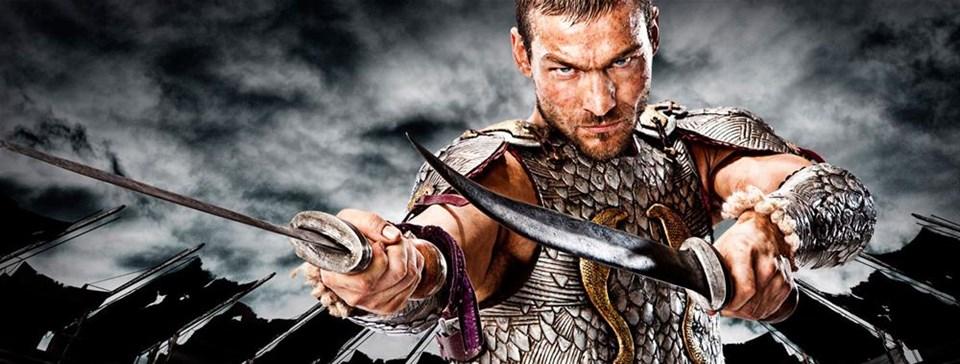 Spartacus'un en çarpıcı sahneleri