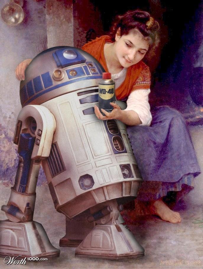 Star Wars kahramanları Rönesans'ta