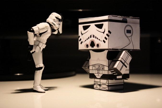 Star Wars'ta parti var!
