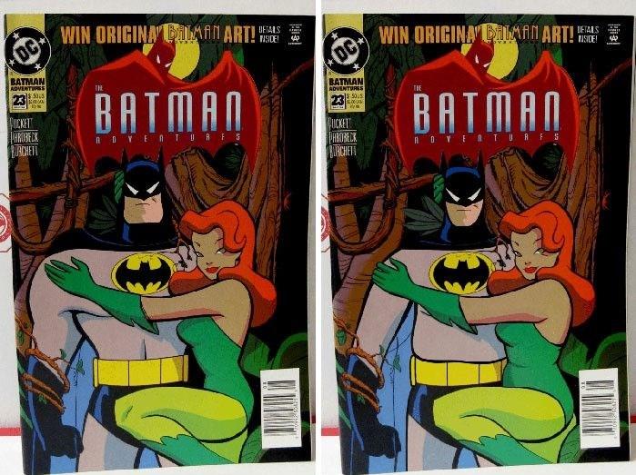 Batman & Poison Ivy