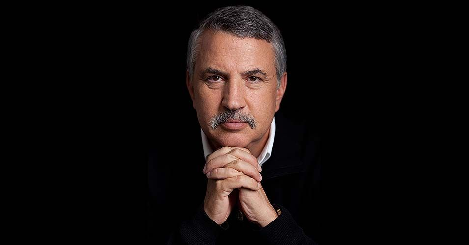 thomas l friedman essay The world is flat is a nice metaphore, but politics and economy is not flat or simple and friedman's attempts to make it so makes the book an overbearing read while friedman may have multiple pulitzers, these are for his short articles, definetly not his book (and two of his pulitzers are over 20 years old.