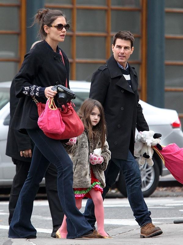 Katie Holmes-Suri-Tom Cruise (2013)