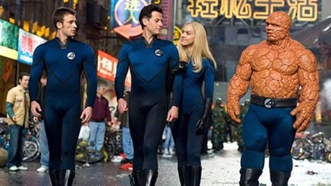 15. Fantastic Four (2005)