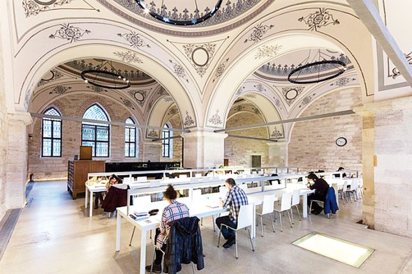 Türkiyenin en ilginç kütüphaneleri