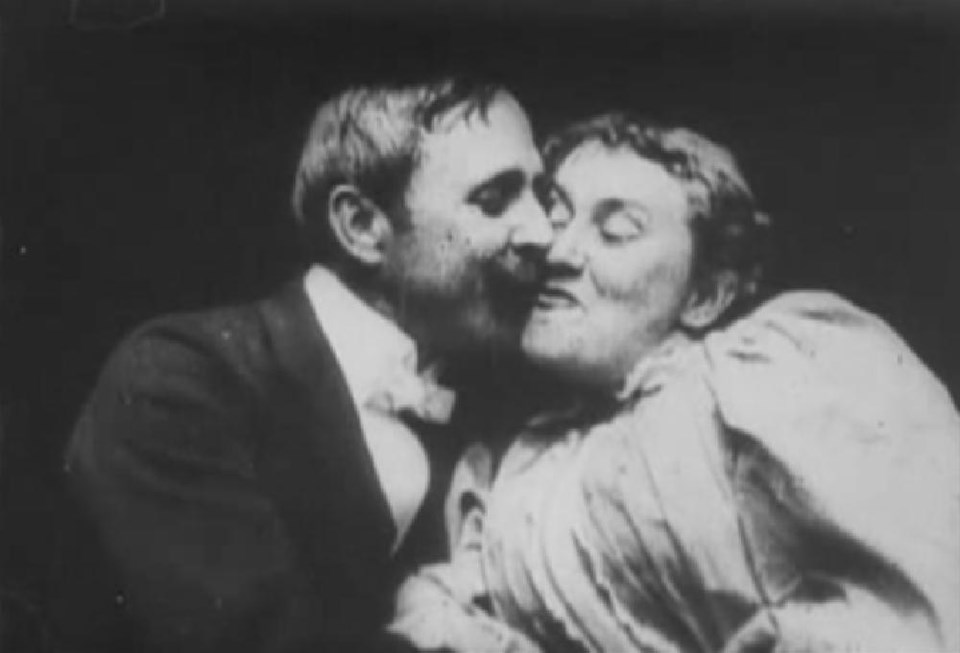 The Kiss, 1896