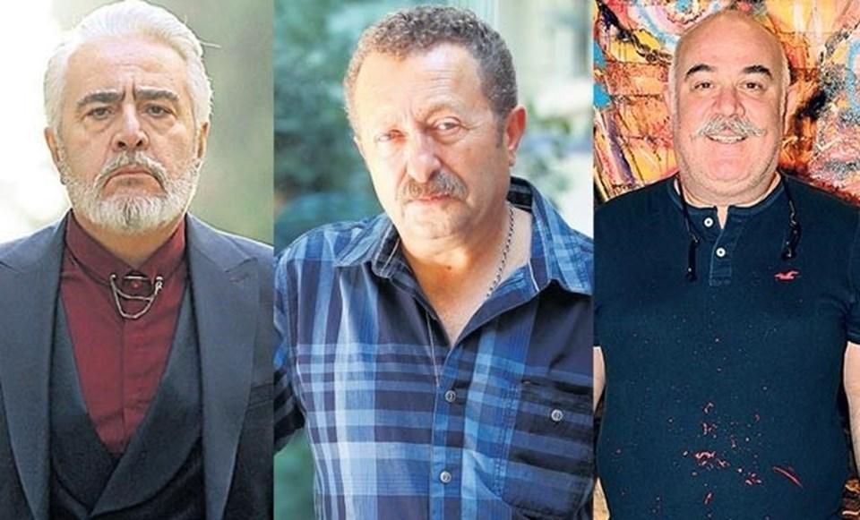 Uğur Yücel, Erkan Can, Güven Kıraç (soldan sağa)