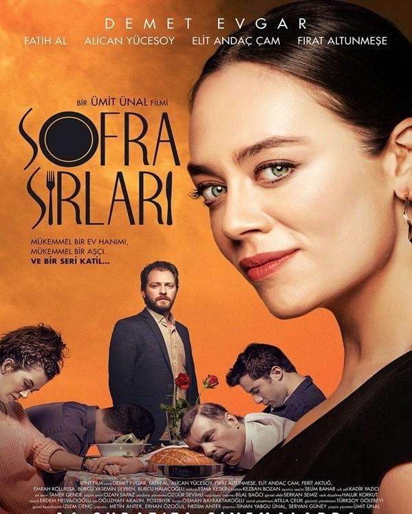 Demet Evgar'ın başrolde oynadığı Sofra Sırları 'Serial Cook' adı ile 3 Kasım'da gösterilecek...