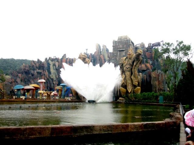 Warcraft temalı oyun parkı