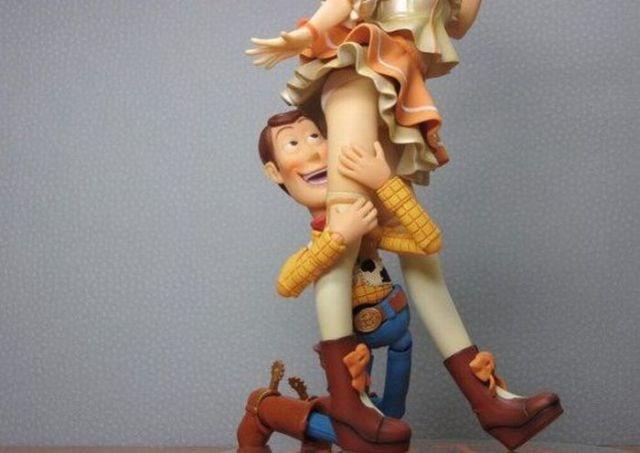 Woody'yi de 'bozdular'