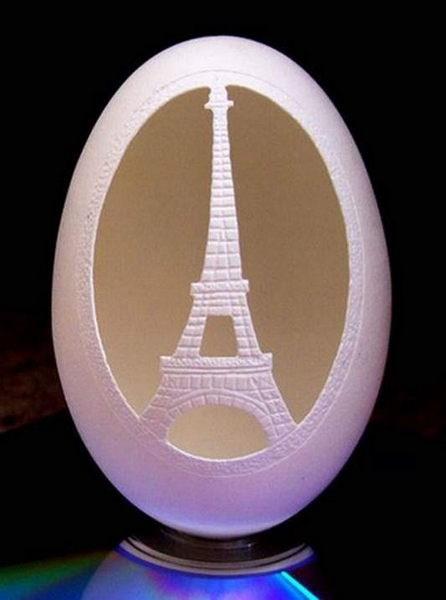 Yumurta kabuğundan sanat