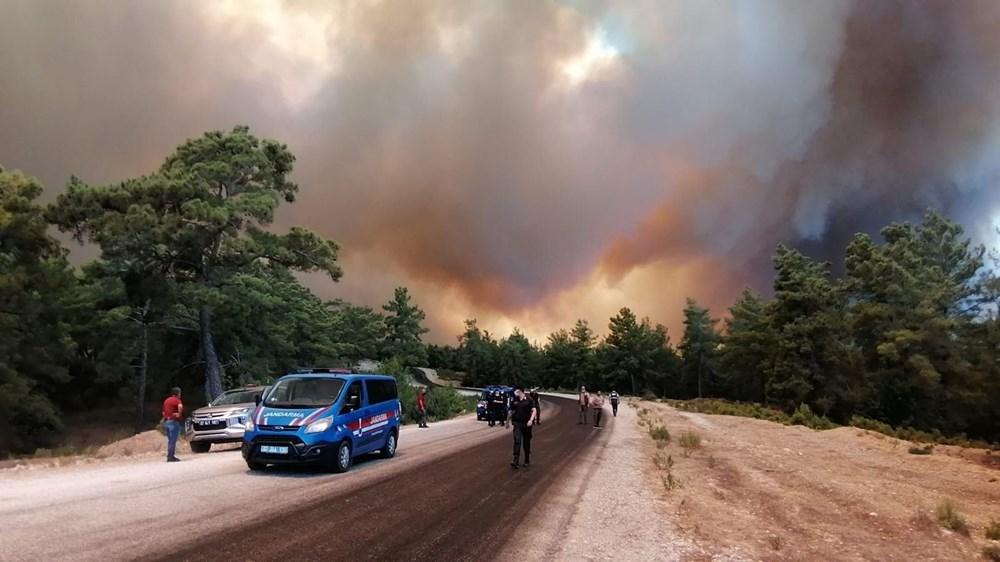 Antalya Manavgat'ta büyük orman yangını - 11