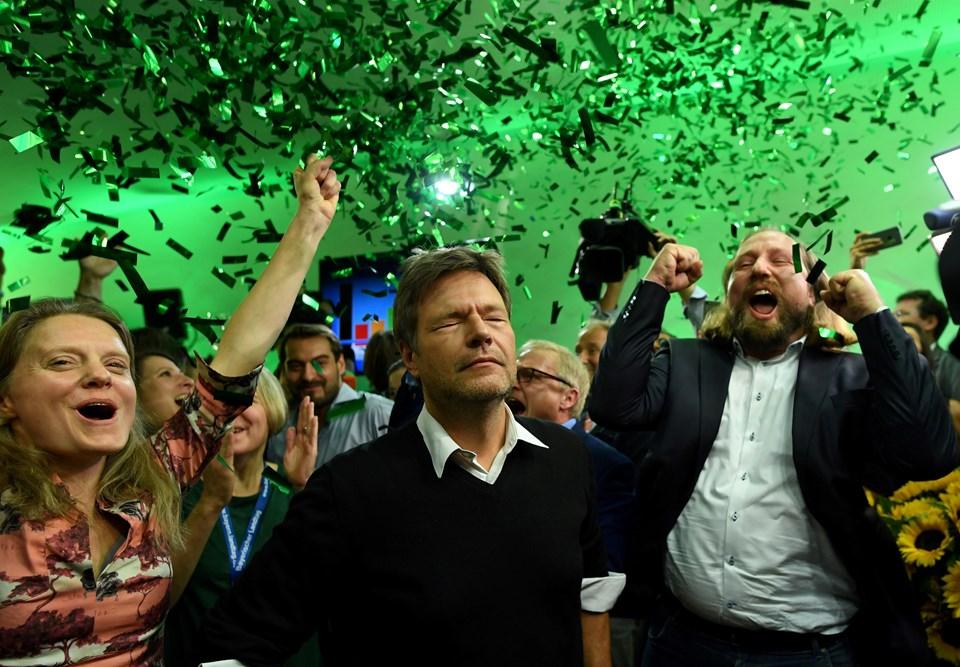 Bavyera'daki seçimlerin en büyük kazananlarından biri Yeşiller oldu.