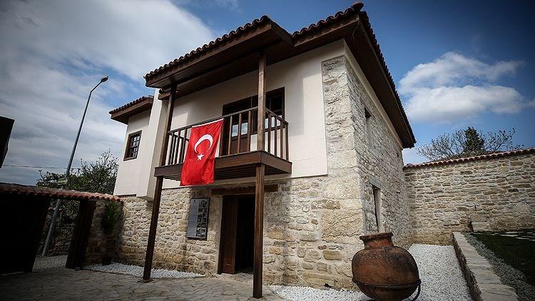 atatürk evi müzesi, bigalı köyü atatürk evi, bayraklı köy