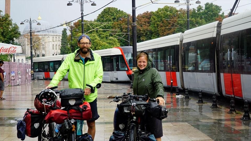 bisikletle dünya turu, christian pries, maren hagel, alman bisikletçiler