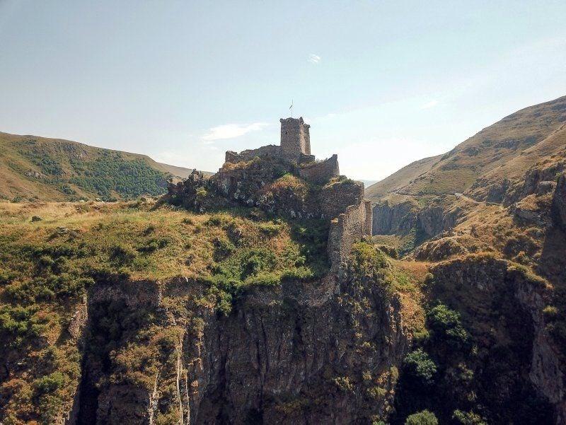 ardahan şeytan kalesi, karaçay kanyonu, ardahan gezilecek yerler, ardahan kale