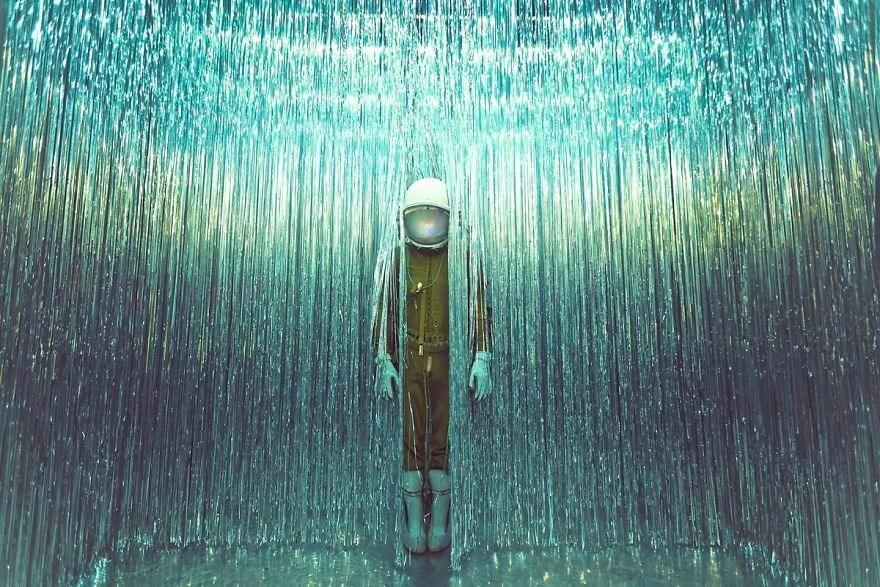 karen jerzyk, yalnız astronot, astronot fotoğrafları, terkedilmiş mekan fotoğrafları