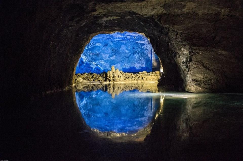 seegrotte gölü, yeraltı gölü, avrupa'nın en büyük yeraltı gölü