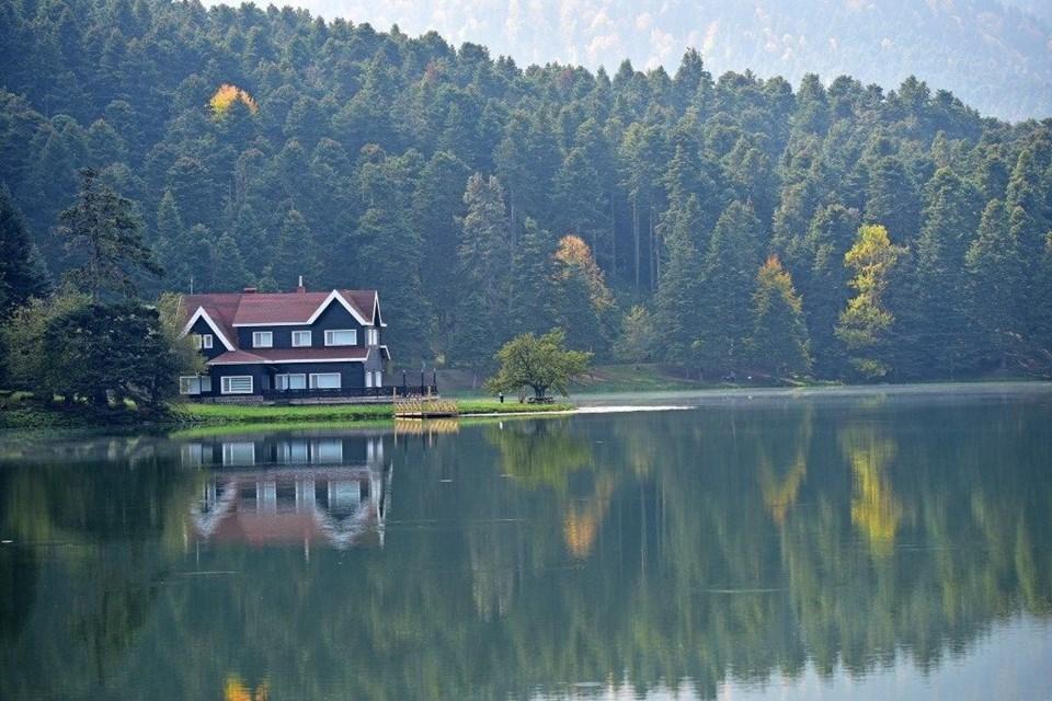 yedigöller milli parkı, sonbahar, Gölcük Tabiat Parkı, doğa, Bolu, bolu gezilecek yerler