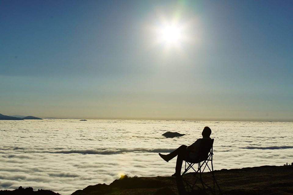 kaçkarlar, kaçkar dağları milli parkı, milli parklar, bulut denizi, bulutların üstünde
