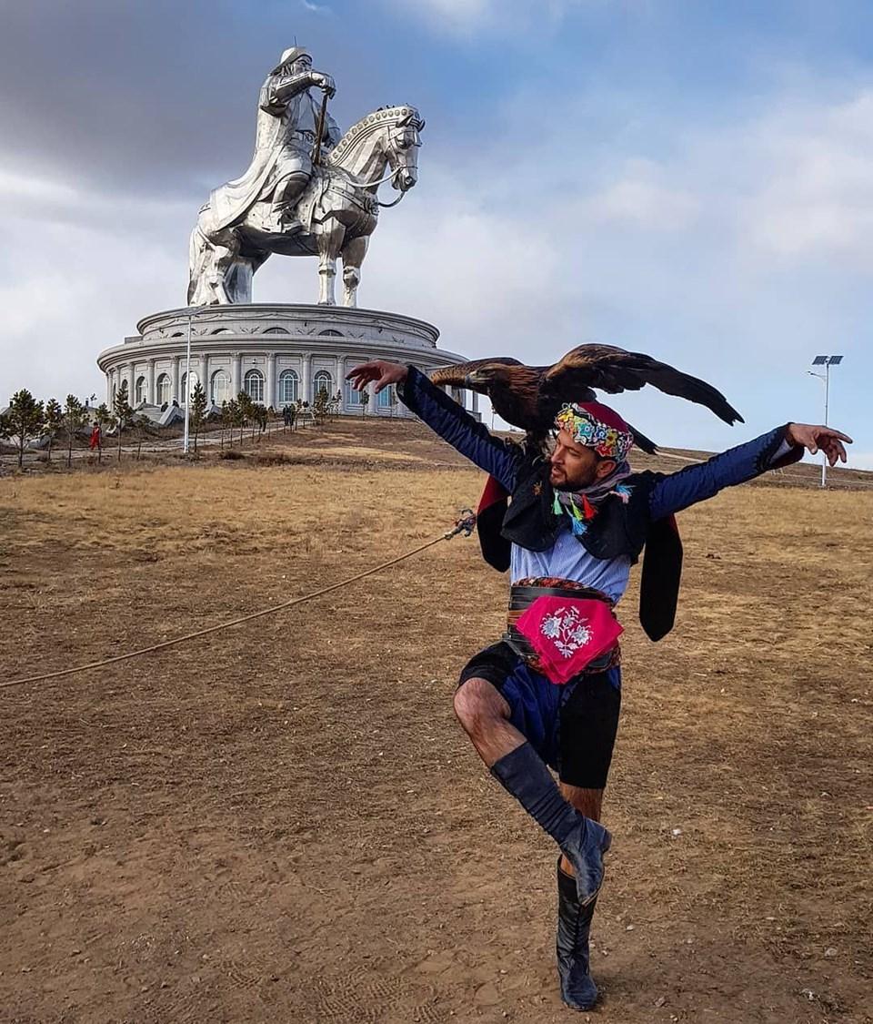 Cengiz Han Heykeli, Moğolistan