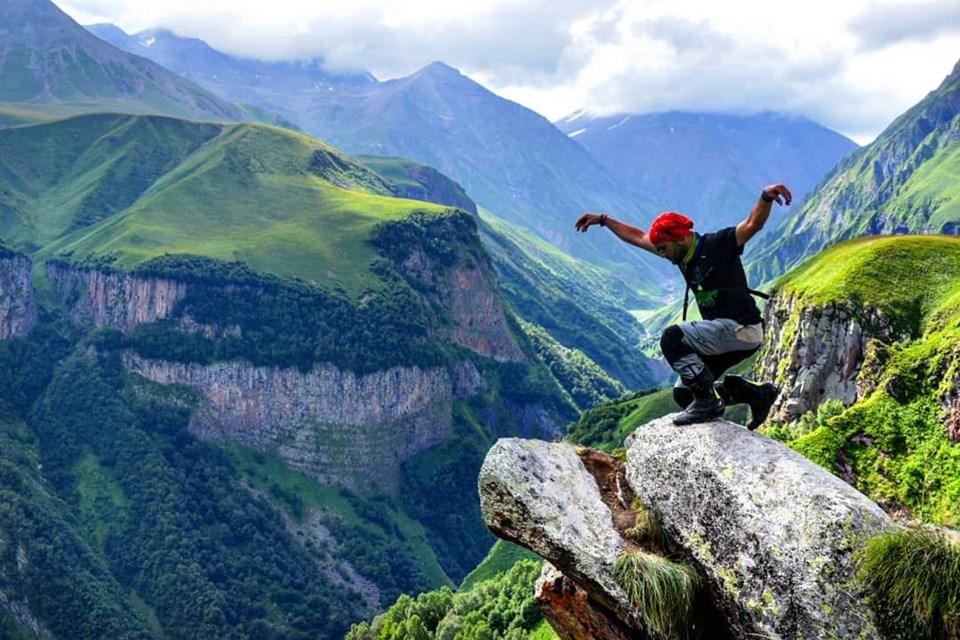 Kazbek Dağı, Gürcistan