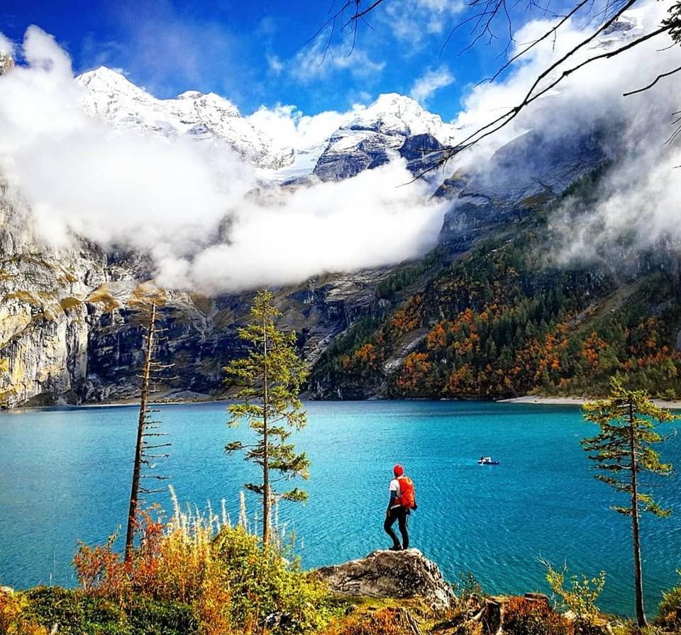 Oeschinensee Gölü, İsviçre