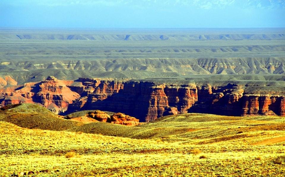 dünyanın en büyük kanyonları, çarın kanyonu, kazakistan, almatı gezilecek yerler