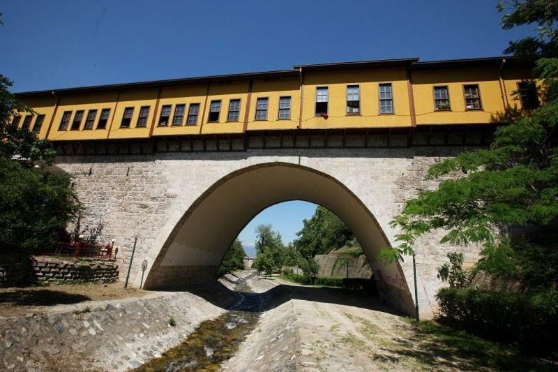 ırgandi köprüsü, bursa gezilecek yerler, dünyanın en eski çarşılı köprüleri, çarşılı ırgandi köprüsü