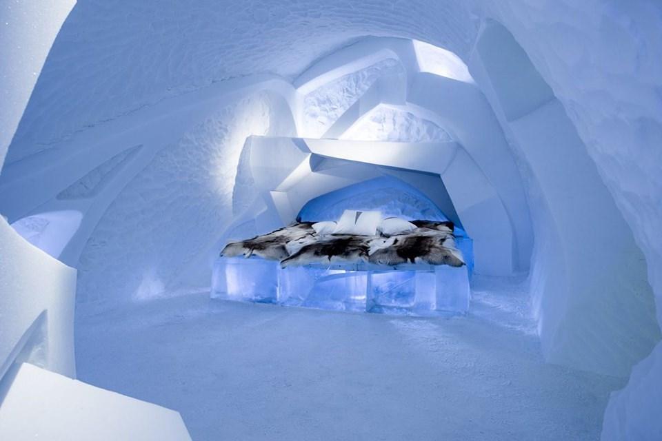 buz oteller, buzdan oteller, dünyanın en iyi buz otelleri, farklı tatiller, Gez, ilginç konaklama deneyimleri, İlginç oteller, Kayak, Kış tatili, Seyahat