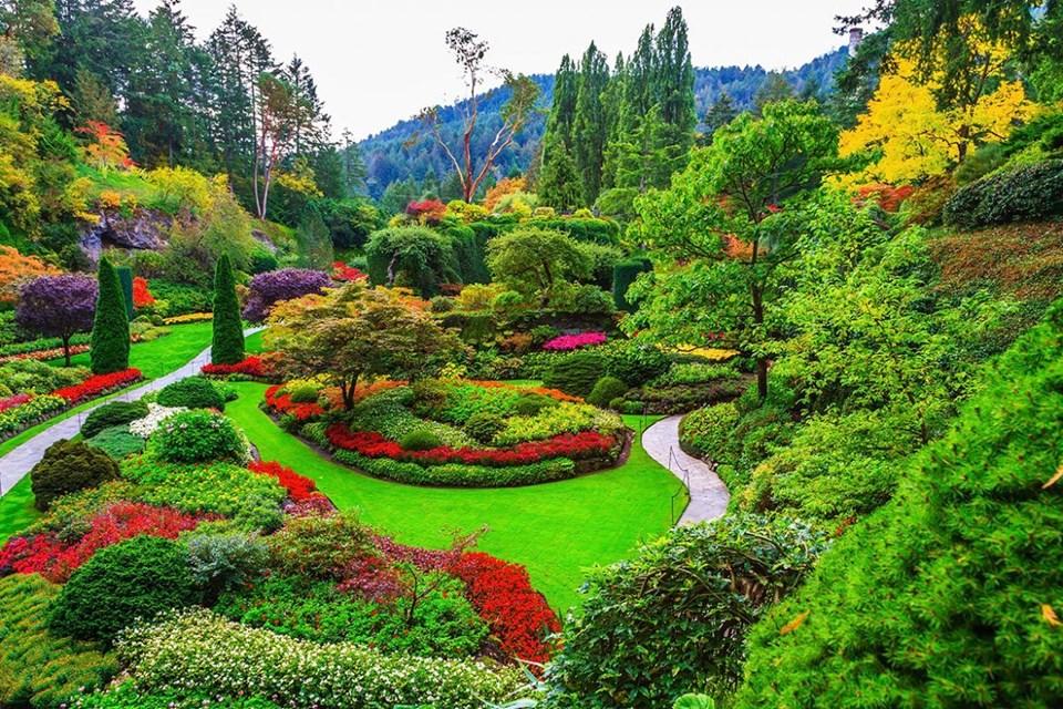 bahçe sanatı,Butchart Gardens,çiçek bahçeleri,en güzel bahçeler, Keukenhof,Monet'nin Bahçesi,Nong Nooch, Versailles,Villa d'este, dünyanın en güzel bahçeleri