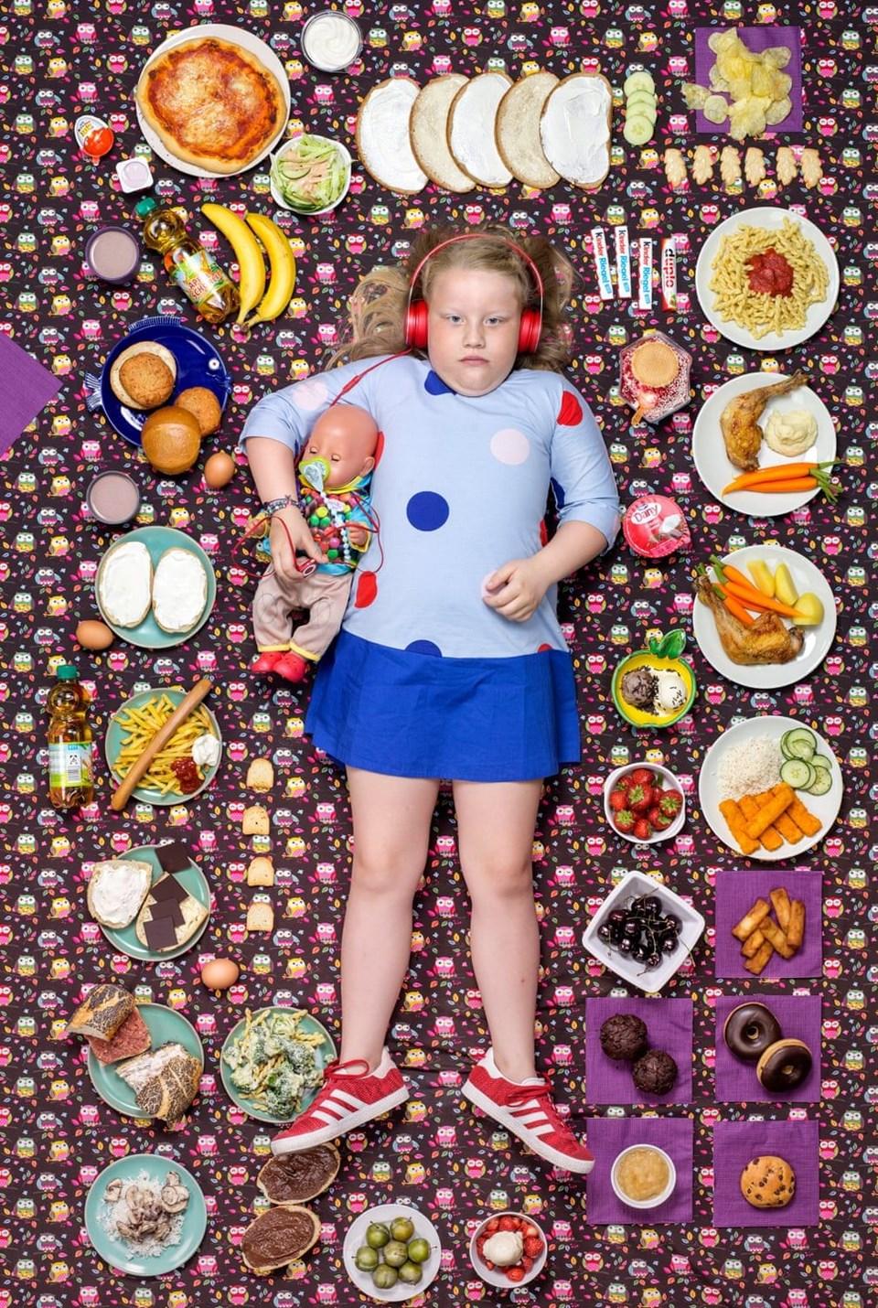 Greta Moeller, 7 yaşında, Almanya