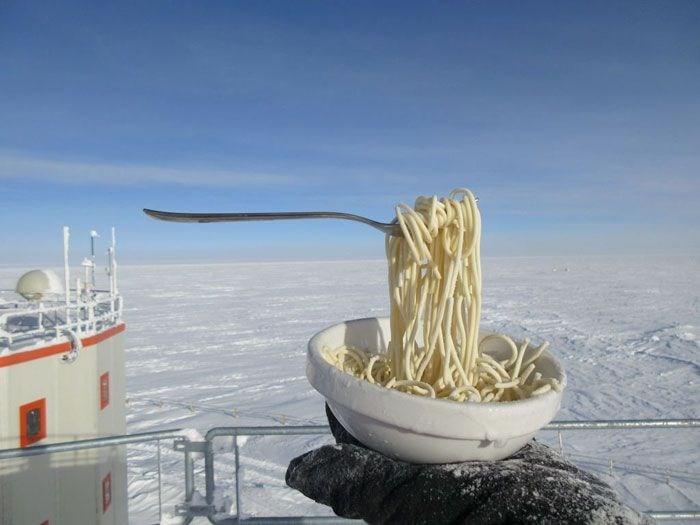 Cyprien Verseux, Antarktika, Antarktika'da yaşam, Antarktika hayat koşulları, Concordia istasyonu,