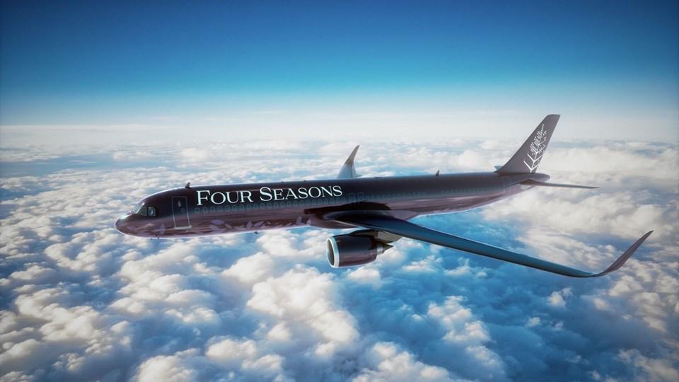 four seasons jeti, four seasons türkiye, dünyanın en lüks uçağı