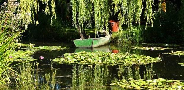 Fransız ressam Claude Monet'nin ilham bahçesine turist akını