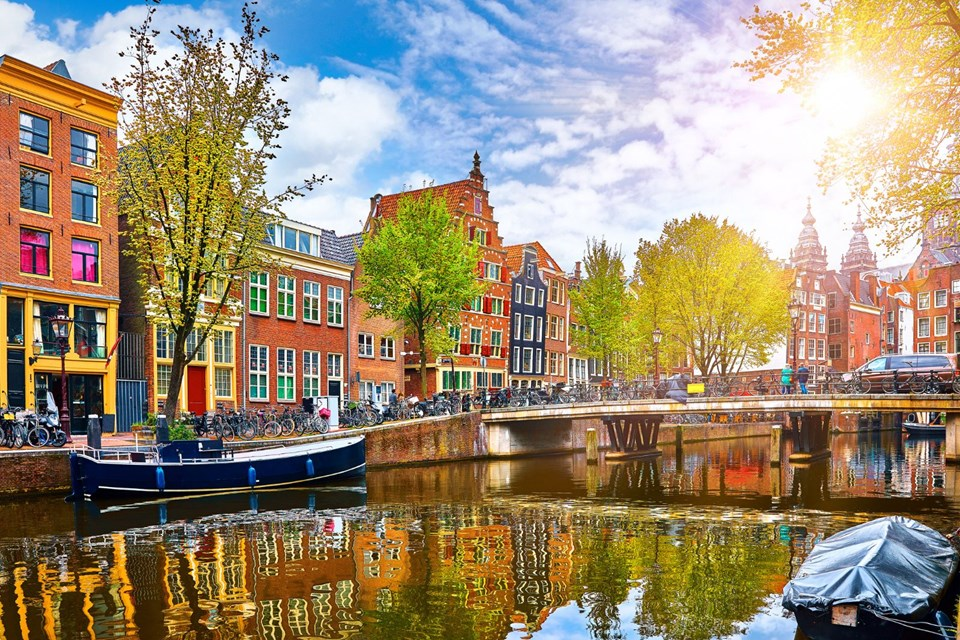 13- AMSTERDAM / HOLLANDA