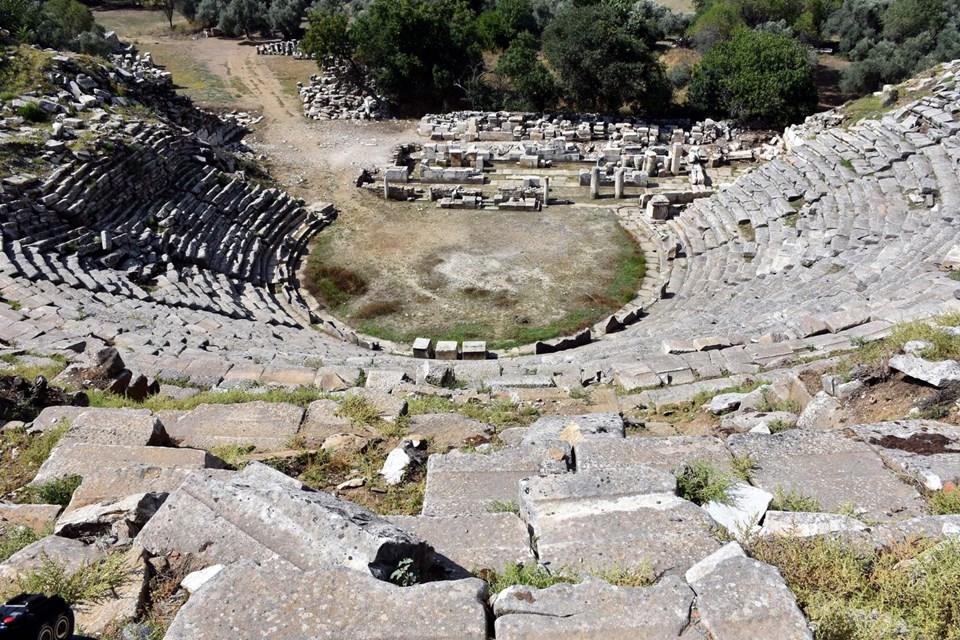 Stratonikeia Antik Kenti, gladyatörler şehri, muğla gezilecek yerler, muğla antik kentler