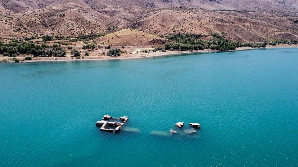 elazığ gezilecek yerler, hazar gölü, elazığ batık şehir, hazar gölü batık şehir, unesco, seyahat