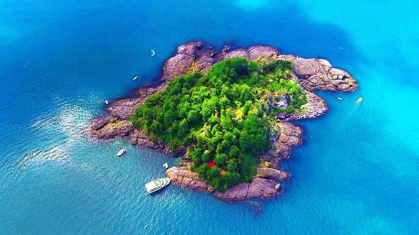 giresun adası, herkül, altın post, amazon kadınları, karadeniz adaları, giresun adası nerede