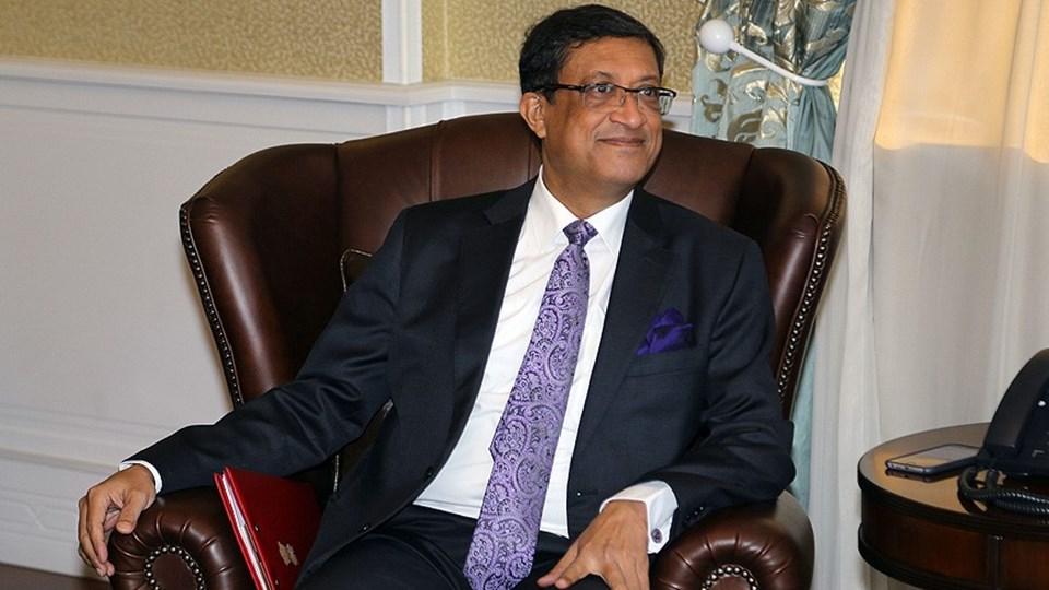 Hindistan'ın Ankara Büyükelçisi Sanjay Bhattacharyya